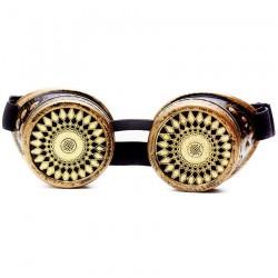 Retro steampunk sunglasses - unisex goggles