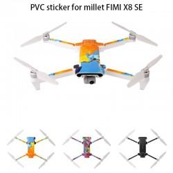 Wodoodporna naklejka PVC dla Drone Xiaomi Fimi X8 SE