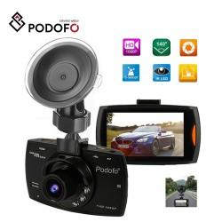 Podofo A2 samochodowa kamera DVR - G30 full HD 1080P 140 stopni - nagrywanie wideo - noktowizor - G-sensor