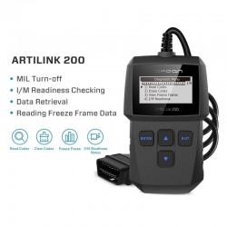 ArtiLink 200 - diagnostiskt verktyg för bil - OBDII OBD2-skanner - X431 kodläsare 3001