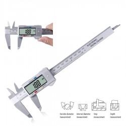 Calibrador vernier digital LCD de 150 mm - micrómetro electrónico - herramienta de medición
