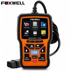 Skaner Foxwell NT301 OBD OBD2 - czytnik kodów błędów - diagnostyka samochodowa - wielojęzyczny - uniwersalny