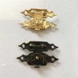 Antyczne żelazo - zasuwka na kłódkę na meble - zamek 30 * 18mm 10 sztuk
