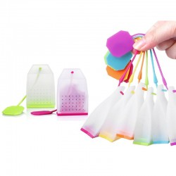 Silicone bags - strainer - tea infuser