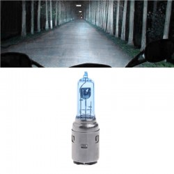 H6 12V 35 / 35W ampoule halogène BA20D - phare de moto 2 pièces