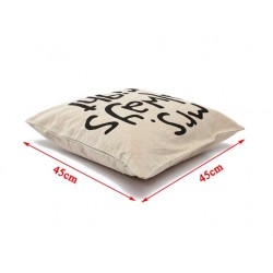 Mr Right & Mrs Always Right Pillowcase Cushion Cover Cotton 45cm * 45cm