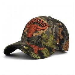 Texas - cappellino da baseball con ricamo - unisex