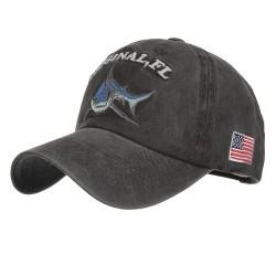 Vintage original Shark - casquette de baseball en coton à broder - unisexe