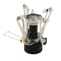 Mini Gas Stove Outdoor Camping Stainless Steel