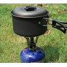 Mini gas stove for camping & picnic - stainless steel - gas burner