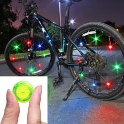 Luz de radio de la rueda de bicicleta - lámpara LED de advertencia - resistente al agua - TL2411