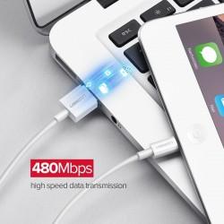 Cable original de 8 pines Lightning a USB UGreen - MFi - 50cm - 1m - 1.5m - 2m