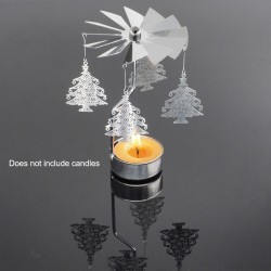 Metal rotating stand - candle holder