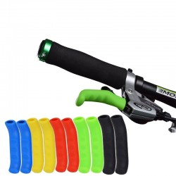 Bicycle Brake Handle Silicone Sleeve Protection Cover Set
