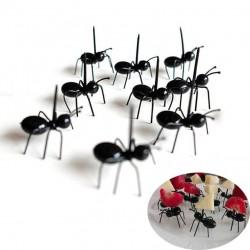 Widelce w kształcie mrówek do owoców & przekąsek & deserów 12 sztuk