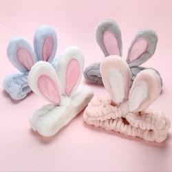 Soft headband with rabbit ears