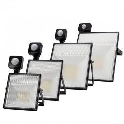 Luce di inondazione a LED 15W 30W 45W 60W / AC220V / SMD2835 con sensore di movimento regolabile