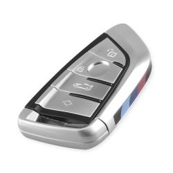 Pokrowiec na klucze - etui do BMW X5 F15 X6 F16 G30 7 Series G11 X1 F48 F39 - 4 przyciski
