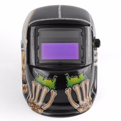 Auto Darkening Welding Helmet Big Eye Skull