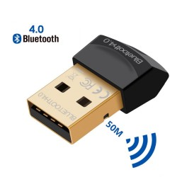 Bluetooth V4.0 CSR - 2,4 GHz - mode double - adaptateur sans fil mini USB