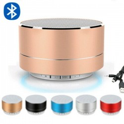 Mini altavoz inalámbrico Bluetooth con LED - super bass