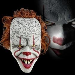 Maska klauna - Halloweenowa maska na całą twarz