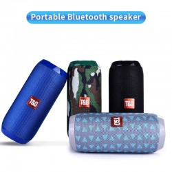 Altavoz inalámbrico Bluetooth TG117 - resistente al agua - columna - tarjeta TF - Radio FM - AUX