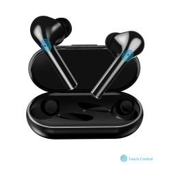 Bluetooth V5.0 - casque à commande tactile - annulation du bruit - écouteurs doubles sans fil TWS