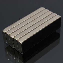 N52 Neodymium strong magnet block 40 * 10 * 4mm 5 pieces