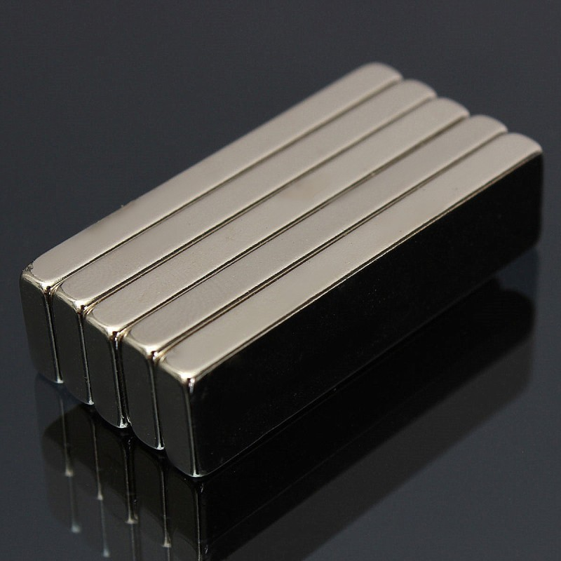 N52 Neodymium Magnet Strong Block 40x10x4mm 5pcs