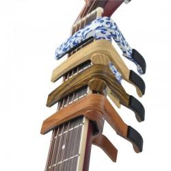 Aluminiowe kapo do gitar elektrycznych i akustycznych - klip - kapodaster