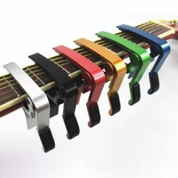 Aluminium guitar capo - quick change clamp - tone adjusting