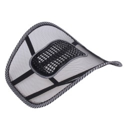 Lower back support - mesh chair cushion