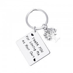 """Thank You For Loving Me"" - keychain"