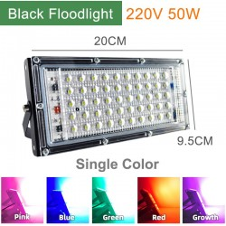 220V 50W - LED floodlight - IP65 waterproof - outdoor light - lamp with reflector