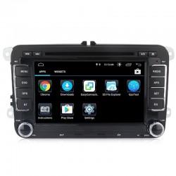 Android 8.0 Quad Core DVD GPS - radio samochodowe dla Volkswagen VW Skoda Octavia Golf 5 6 Touran Passat B6 Jetta Polo Tiguan