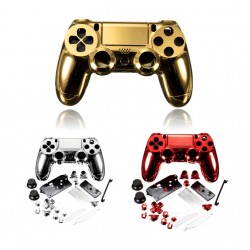 Cover per Controller Playstation 4 Oro Rosso Argento