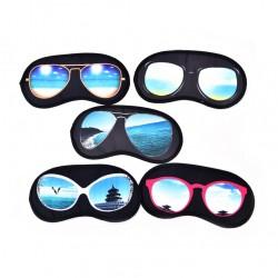 Maschera per dormire con motivo a occhiali da sole - maschera per gli occhi