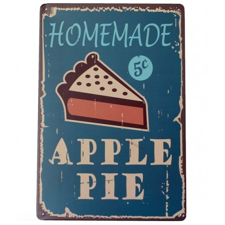 Homemade Apple Pie - metalowy napis - plakat