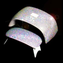 Błyszcząca naklejka 3D do lampy do suszarki do paznokci 6W / 24W UV - samoprzylepna
