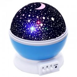 Projektor gwiaździstego nieba - lampka nocna LED