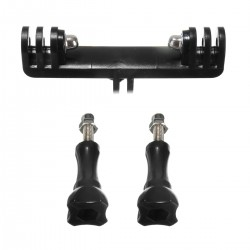 Dual holder mount for monopod - GoPro