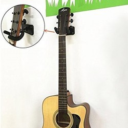 Steel wall mount for guitar - violin