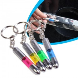 Anti-static metal keychain - built-in LED