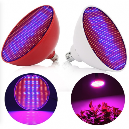 E27 80W - 500 LEDS - grow lamp