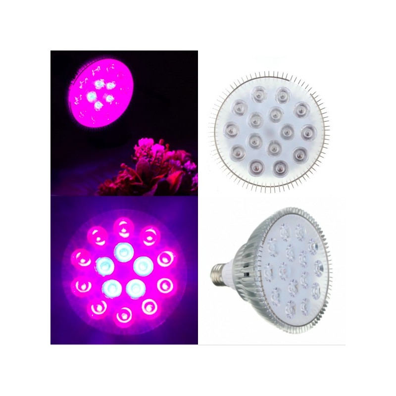 E27 45W LED Plant Grow Light Hydroponic