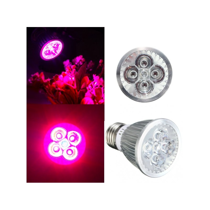 E27 15W LED Plant Grow Light Hydroponic