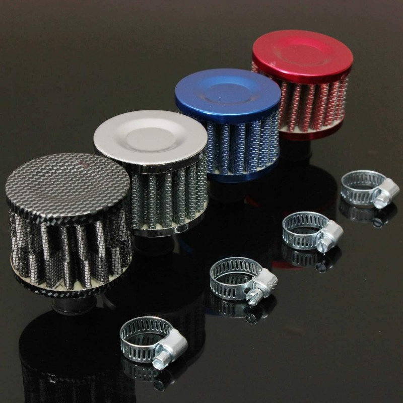 12mm Carbon Motor Oil Air Intake Filter