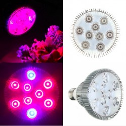 E27 27W LED Plant Grow Light Hydroponic
