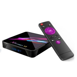 X88 Pro X3 Amlogic S905X3 4GB RAM 32GB ROM 5G WIFI Bluetooth 4.1 8K Android 9 - TV Box